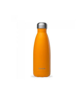 Gourde Isotherme Inox Orange Mat 500ml