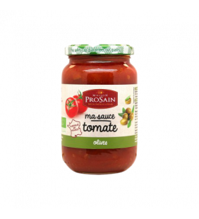 Sauce Tomate Aux Olives Bio 200g