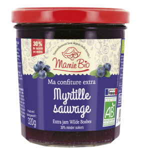 Confiture Myrtille Sauvage 320g