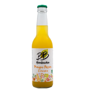 Kombucha Mangue Passion Curcuma 33cl
