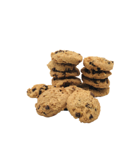 Cookies Amandes Choco Noisettes 125g